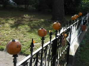 impaled pumpkins